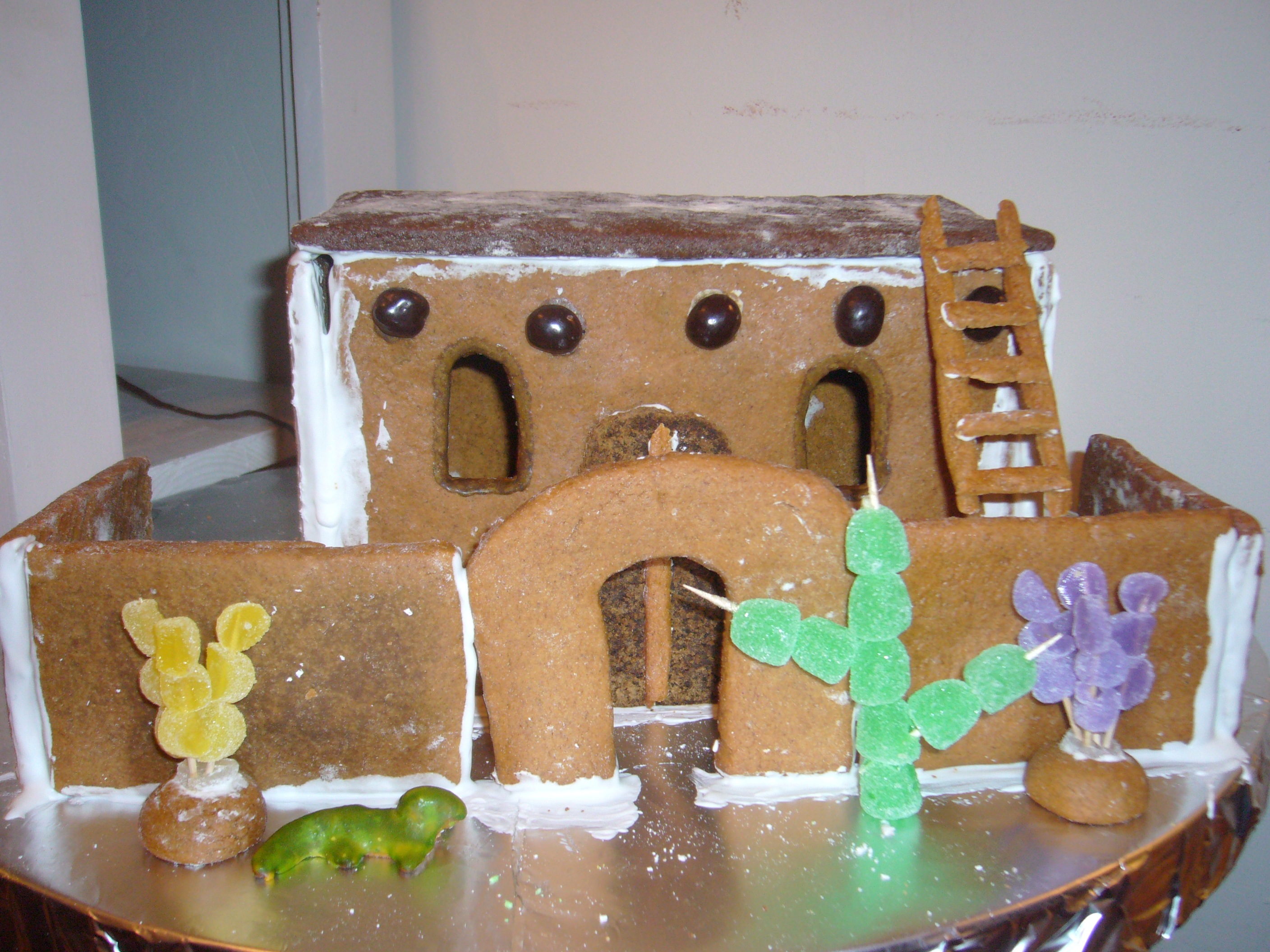 Holiday Craft Idea Make A Gingerbread Global Village