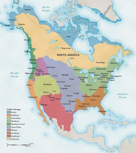 Geography Cultures: Native American Heritage Month