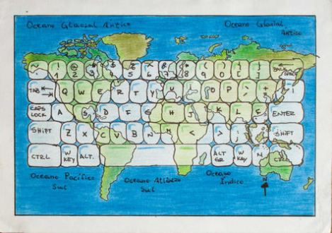 """The World In a Click"" by Ana Carolina Otton Sarmanho, Brazil, age 12."