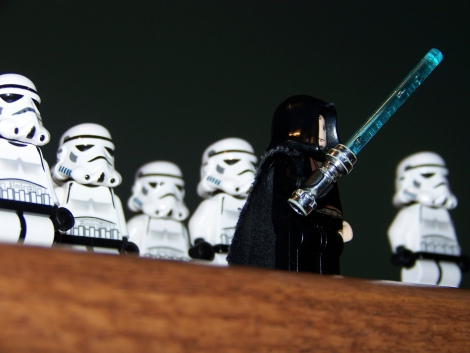 Photo: Star Wars characters.