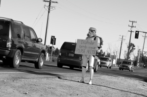 Photo: Storm Trooper.