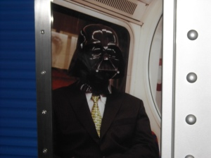 Photo: Darth Vader.
