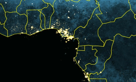 Exploring earth at night nat geo education blog lights at night nigeria gumiabroncs