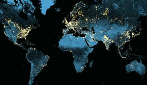 NASA Lights at Night