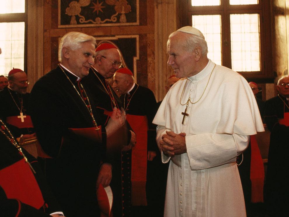 Pope John Paul II as Cardinal