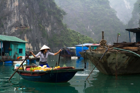 Lady selling fruits in Ha Long Bay - 2012-06-24_135724_spontaneous-moments.jpg
