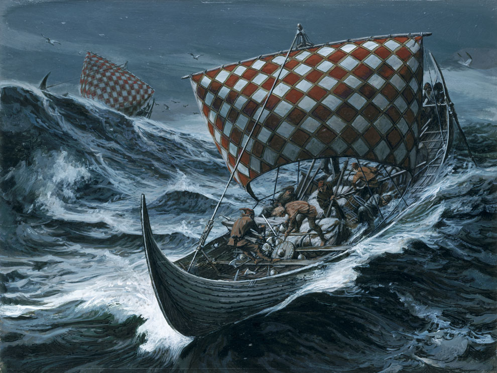 Viking 'Sunstone' May Have Existed – National Geographic ...Viking Ship Storm