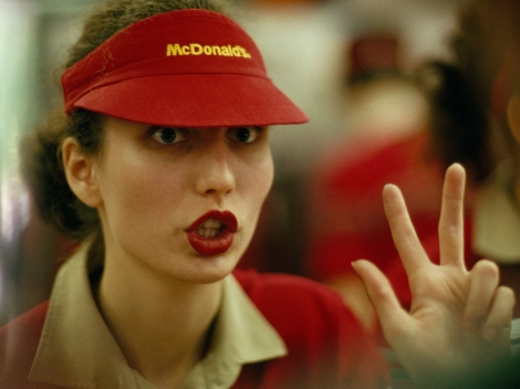 The median pay for fast-food workers In New York City is about about $9/hour. Photograph by Steve Raymer