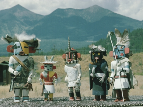 Kachinas, known by the Hopi as katisam, are sacred objects associated with ancestral spirits. Photograph by Robert Sisson