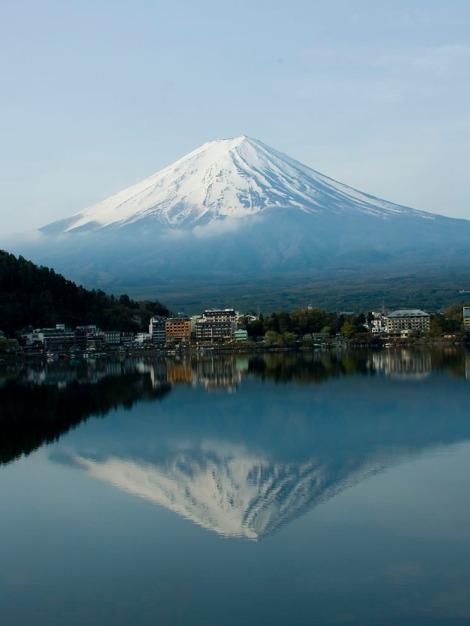 Mount Fuji, just a short drive from the Tokyo metropolis, is a physical, cultural, and spiritual symbol of Japan. Photograph by Khor Ai Sang