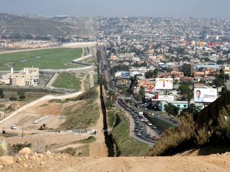 """""""We need to make the border the center, not the end,"""" says San Diego Mayor Bob Filner."""" Photograph courtesy Sgt. 1st Class Gordon Hyde, National Guard"""