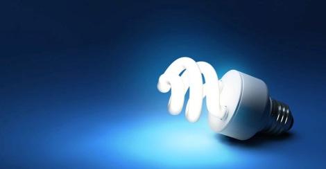 Light bulb for blog post