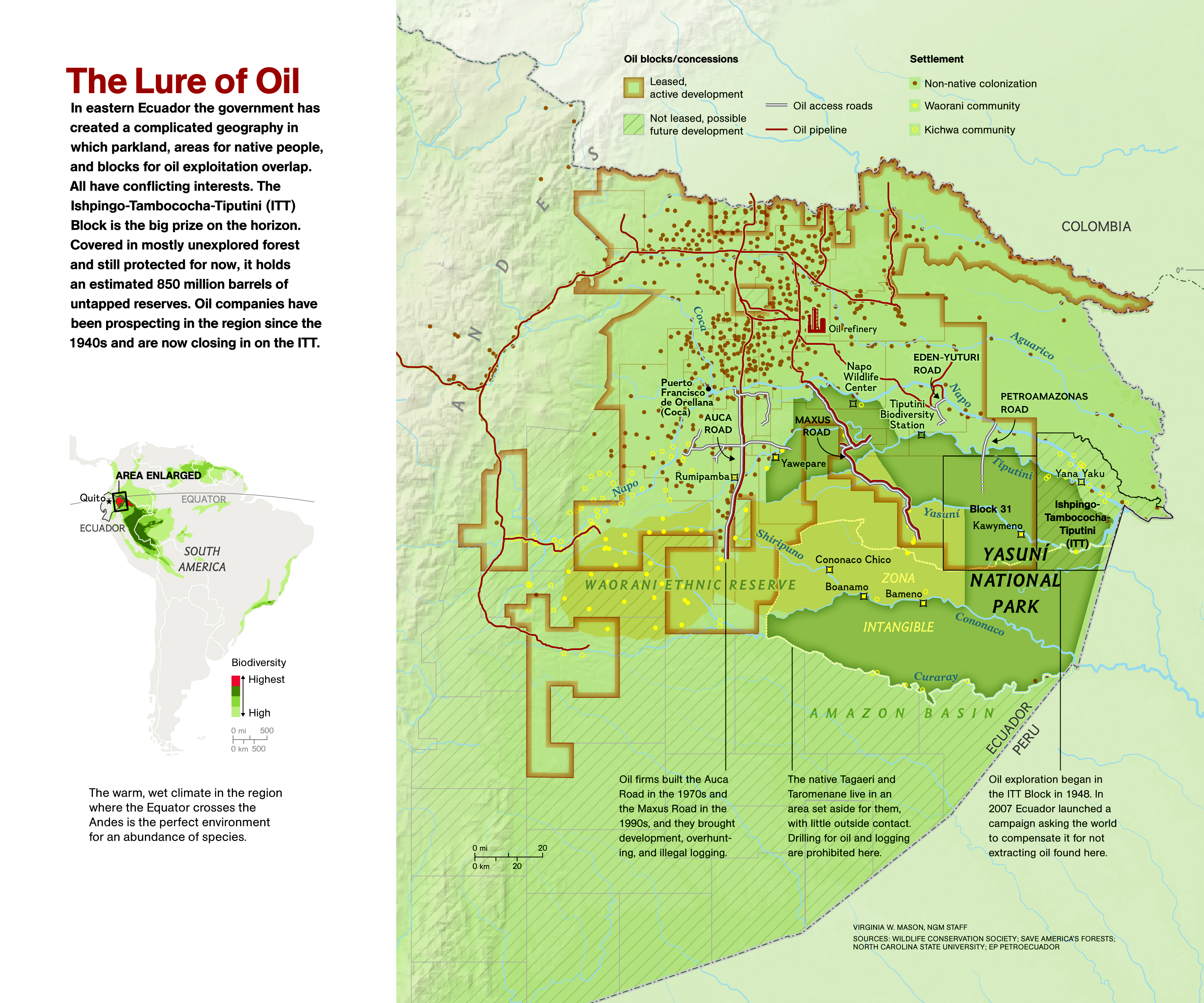 Ecuador OKs Oil Drilling in the Amazon | Nat Geo Education ...