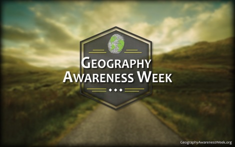 Geography Awareness Week 2013