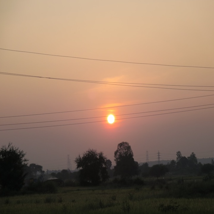 Photograph by Aakriti: Glowing Ball of Fire