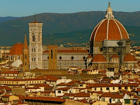 Hundreds of years after its construction, the Duomo still dominates the skyline of Florence, Italy. Photograph by Patrick McCarthy, National Geographic