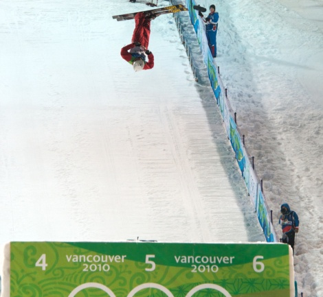 """""""Extreme"""" sports, such as freestyle skiing (above) and snowboarding, demand endurance and flexibility, as well as excellent body composition. Photograph by Duncan Rawlinson, courtesy Wikimedia. This file is licensed under the Creative Commons Attribution 2.0 Generic license."""