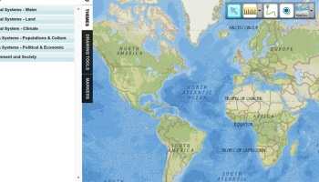 Mapmaker interactive part 1 earth at night and population density mapping monday mapmaker interactive tutorials gumiabroncs Image collections