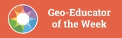 Geoeducator of the week-blogarticle