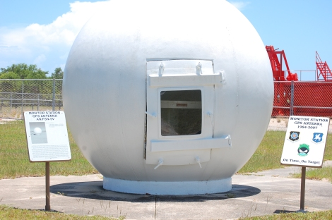 This is an older model of a GPS ground monitor station, used from 1984-2007. (Today, it's on display at the Air Force Space and Missile Museum in Cape Canaveral Air Force Station, Florida.) Russia has restricted use of such stations in its territory. Photograph by Bubba73, courtesy Wikimedia. This file is licensed under the Creative Commons Attribution-Share Alike 3.0 Unported license.
