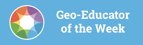 Geoeducator of the week-blogarticle-blue
