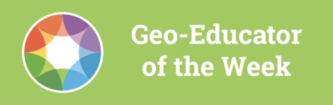 Geoeducator of the week-blogarticle-green