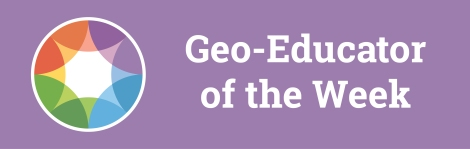 Geoeducator of the week-blogarticle-purple
