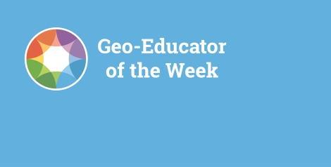 Geoeducator of the week-blogbanner-blue