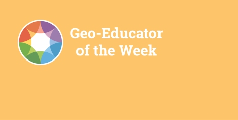 Geoeducator of the week-blogbanner-orange