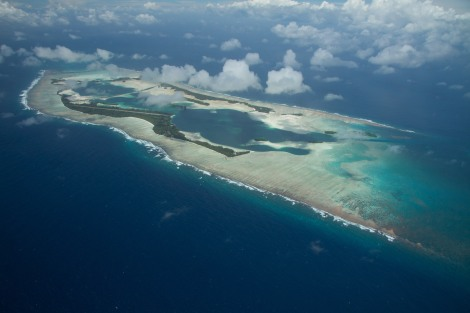 Palmyra Atoll is one area protected by the expanded Pacific Remote Islands Marine National Monument. Photograph by Erik Oberg/Island Conservation, courtesy U.S. Fish and Wildlife Service.  This file is licensed under the Creative Commons Attribution 2.0 Generic license.