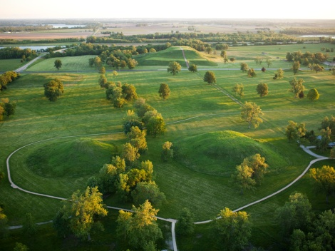 Cahokia, Illinois? This ancient city thrived on trade and multicultural exchange—characteristics that continue to define the United States. Justine, you know urban planning! What would you suggest? Photograph by Ira Block, National Geograhpic