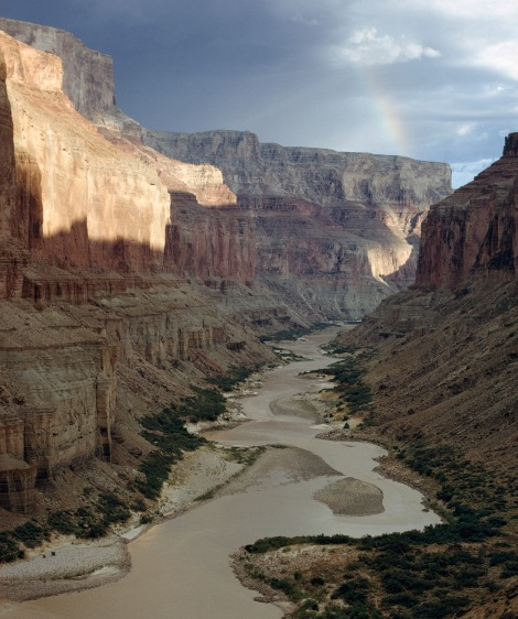 The Grand Canyon? It symbolizes the rugged isolation of the American West. (Sam, I bet you'll want to substitute the Adirondacks.) Photograph by Walter Meayers Edwards, National Geographic