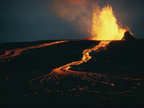 Mauna Loa, Hawaii? Photograph by Robert Madden, National Geographic