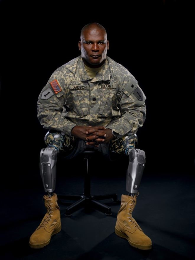Petroleum products are used in everything from gel capsules to bubble gum. The plastics used in Lt. Col. Greg Gadson's sophisticated prosthetic legs are made possible by petroleum. Photograph by Mark Thiessen