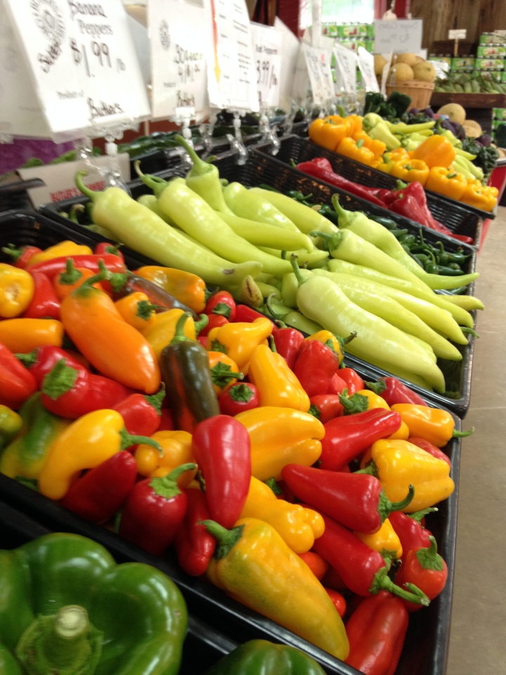 Pick-it-yourself or fresh from the farm! Photograph courtesy Jillian Levine
