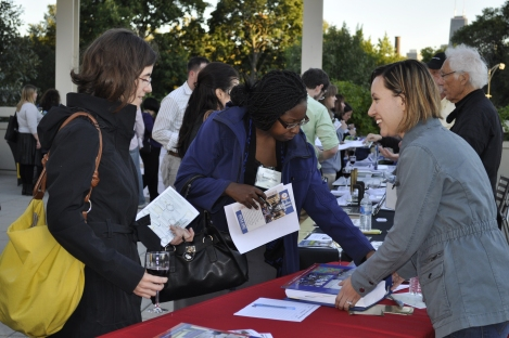 Educators meet with local museums and nonprofits to gain resources. Photograph by Lynn Szopinski