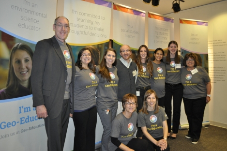 Meetup volunteers were essential to the event's success! Photograph by Nora Stowe