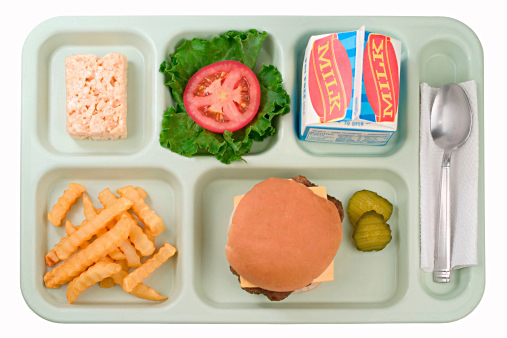 """Photograph courtesy the Center for Ecoliteracy—click here to learn more about their """"Rethinking School Lunch"""" framework."""