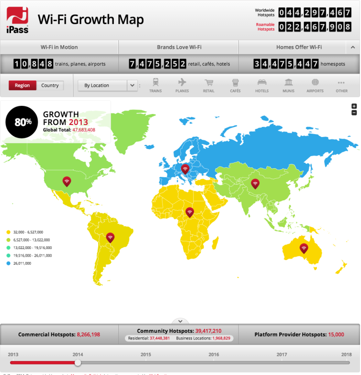 Click here or on the map above to visit the fascinating interactive map from Wi-Fi provider iPass.