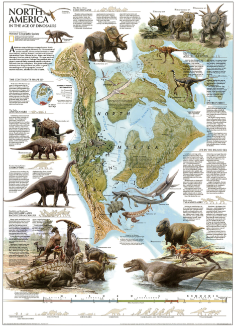 Click to visit our extremely high-resolution version of this classic Nat Geo map! Map by National Geographic Maps