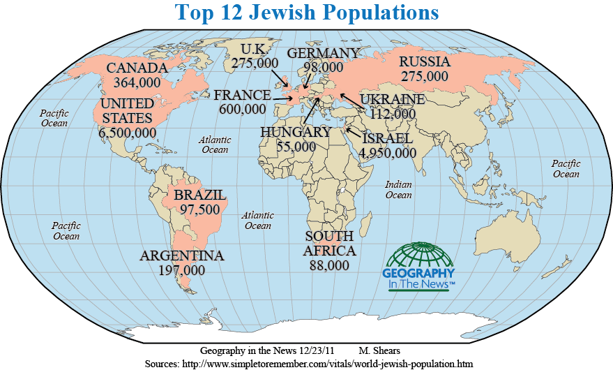 Geography in the News Hanukkah A Jewish Celebration  Nat Geo