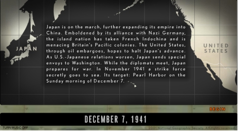 pearl harbor attack map