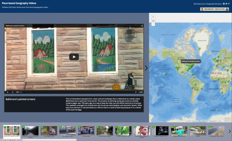 Seth Dixon Shares Place-based Geography Videos