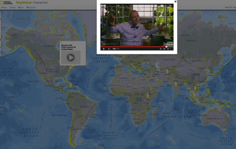 Check out inspiring and down-to-earth videos from all Top 10 Finalists for the Global Teacher Prize on today's MapMaker Interactive map!