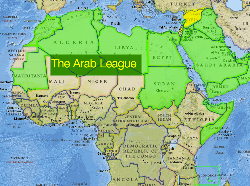 Map Of Spain And North Africa.North Africa National Geographic Education Blog