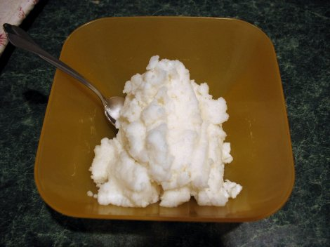 """Snow cream"" sounds pretty good: snow, cream, sugar, and maybe an egg as a binder. Photograph by Chris Breeze, courtesy Wikimedia. CC-BY-2.0"