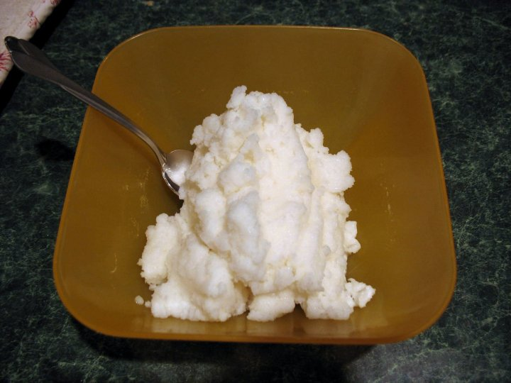 """""""Snow cream"""" sounds pretty good: snow, cream, sugar, and maybe an egg as a binder. Photograph by Chris Breeze, courtesy Wikimedia. CC-BY-2.0"""