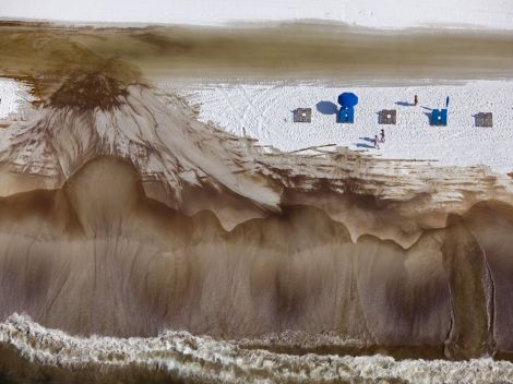 Beaches . . . Photograph of Orange Beach, Alabama, months after the Deepwater Horizon explosion by Tyrone Turner, National Geographic