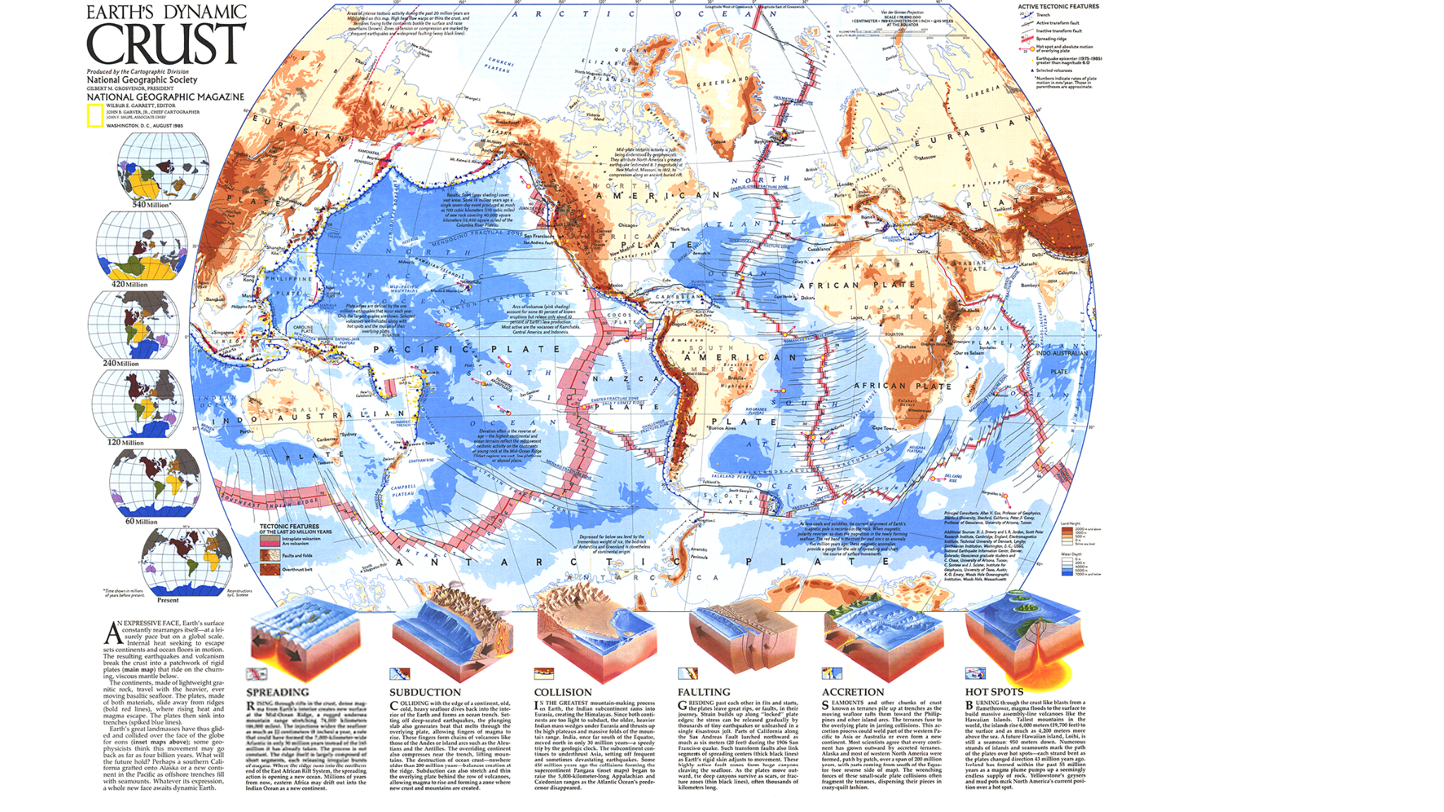 The Earths Major Tectonic Plates Scholastic News Online Plate