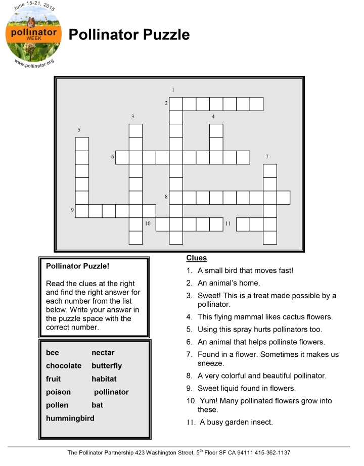 Click to download this pollinator puzzle!